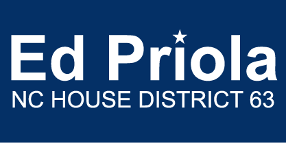 Ed Priola for NC House District 63